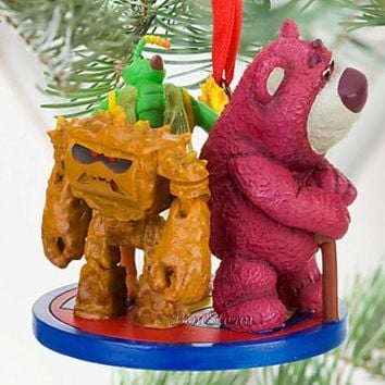 Licensed cool NEW 2010 Disney Store Toy Story 3 LOTSO BEAR CHUNK TWITCH Christmas Ornament