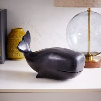 Soapstone Whale Object