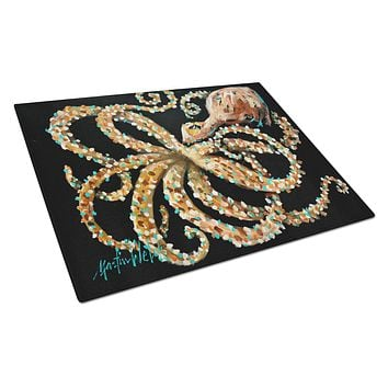 Eye On You Octopus Glass Cutting Board Large MW1275LCB