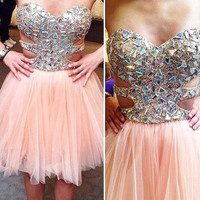 Homecoming Dresses,Charming Homecoming Dress
