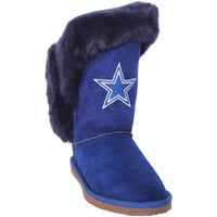 Dallas Cowboys Cuce Women's Champions Boots – Navy Blue
