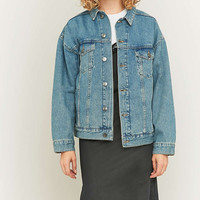 BDG Oversized Blue Denim Jacket - Urban Outfitters