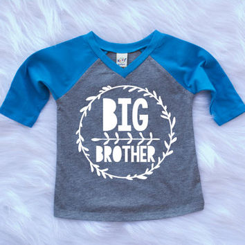 Big Brother Shirt Little Brother Shirt Personalized Shirt Sibling Shirts Brother Shirts Pregnancy Announcement Baby Announcement Shirt #42