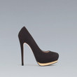 PUMPS WITH METALLIC PLATFORM - Shoes - Woman - ZARA United States