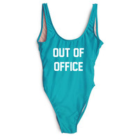 Out Of Office One Piece Swimsuit