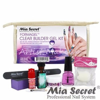 MIA SECRET CLEAR BUILDER GEL COMPLETE KIT MADE IN USA