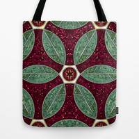 Turkish Bath Mosaic Tote Bag by Raven Jumpo