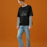 Earth Layered Long Sleeve Shirt
