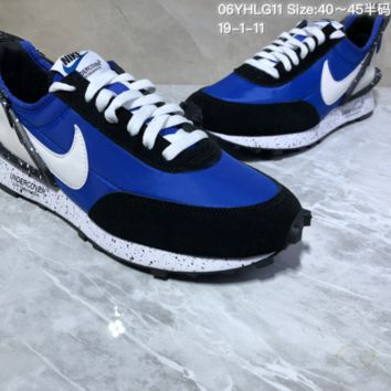 KUYOU N943 Nike Ldflow Under Cover Avant-garde lightweight running shoes Blue Black