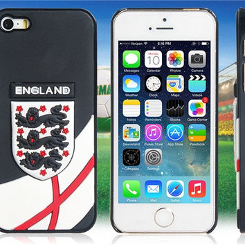 World Cup England Football Team Case for iPhone 5/5S