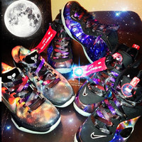 Exclusive Sneakerheads Galaxy LE Laces by SNEAKERHEADSCLOTHING