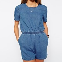 ASOS Denim T-Shirt Romper