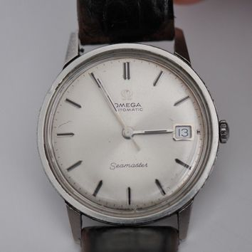 Vintage Omega Seamaster watch with Date automatic watch caliber 565 166.002