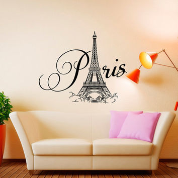 Best Paris Wall Art Decals Products on Wanelo