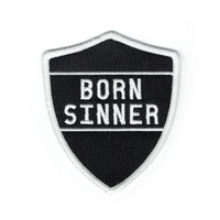 Born Sinner Patch