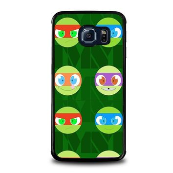 teenage mutant ninja turtles babies tmnt samsung galaxy s6 edge case cover  number 1