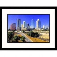 Great American Picture Skyline Tampa, Florida Framed Photograph - John Coletti - IS852934-CH