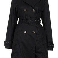 Unlined Seamed Trench Coat - Jackets & Coats - Clothing - Topshop