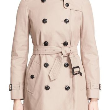 Burberry London 'Kensington' Belted Double Breasted Trench Coat | Nordstrom