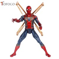 Marvel Toys Avengers 3 Infinite War Iron Spiderman PVC Action Figure Superhero Figures Spider-man Collectible Model Dolls Toy