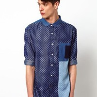Two Square Hero Shirt - Blue