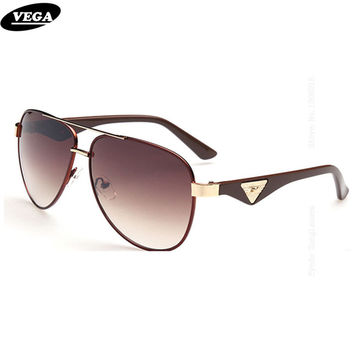 VEGA Cool Polarized Aviation Sunglasses Online Sale HD Vision Hipster Glasses Coating Mirror Eyeglasses Progressive Lenses 603