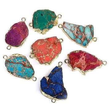 Pendant Gem Stone Sea Sediment Pendants