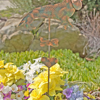 Dachshund Wiener Dog Garden Stake / Metal Garden Art / Garden Copper / Pet Memorial /Dachshund Gift / Outdoor Decor / Metal Sculpture