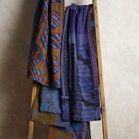 Overdyed Kantha Throw by Anthropologie