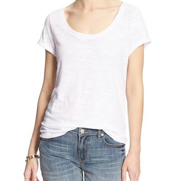 Banana Republic Factory Back Seam Tee