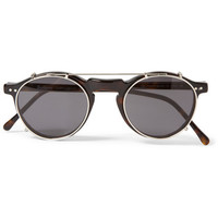 Illesteva - Capri Detachable-Front Round-Framed Acetate Glasses | MR PORTER