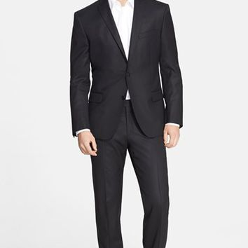 Men's Versace Collection Trim Fit Wool Suit