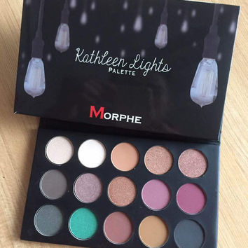 Morphe x kathleen lights 15-color Eye Shadow [11405535823]