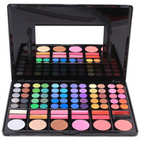 78 Colors Warm Matte Shimmer Eyeshadow