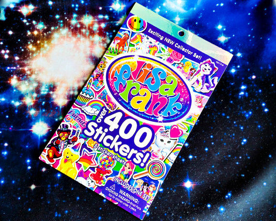 NEW Lisa Frank Sticker Book Over 400 From HarajunkuDesigns On