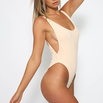 Macey Swimsuit - Nude