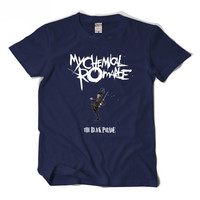 My chemical romance MCR T-shirt Black parade men tshirt
