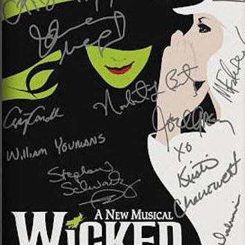 Wicked Signed Reprint Photo