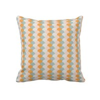 Colorful Circles Throw Pillow from Zazzle.com