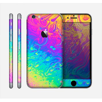 The Neon Color Fushion V2 Skin for the Apple iPhone 6