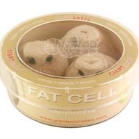 Giant Microbes Fat Cell Adipocyte Petri Dish