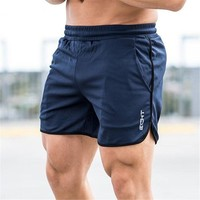 2018 Summer Running Shorts Men Sports Jogging Fitness Shorts  Quick Dry Mens Gym Men Shorts Crossfit Sport gyms Short Pants men
