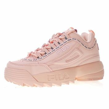 "FILA Disruptor II 2 Running Shoes Sneaker ""Pink""FW0165-124"