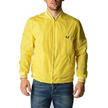 Yellow S Fred Perry Mens Jacket 30732062 0877