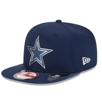 New Era Dallas Cowboys 2015 Draft Collection 9FIFTY Original Fit Snapback Cap - Adult, Size: One Size (Blue)