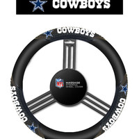 Dallas Cowboys Steering Wheel Cover - Massage Grip