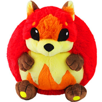 Mini Squishable Flame Fox: An Adorable Fuzzy Plush to Snurfle and Squeeze!