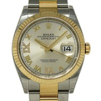 Rolex Datejust Swiss-Automatic Male Watch 126233 (Certified Pre-Owned)
