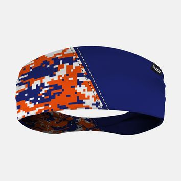 Arsenal Blue Orange White Digi Camo Headband