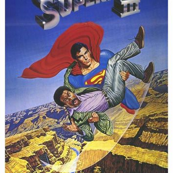 Superman 3 27x40 Movie Poster (1983)